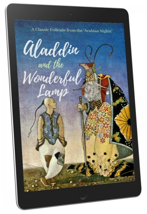 Front Cover - Aladdin and the Wonderful Lamp