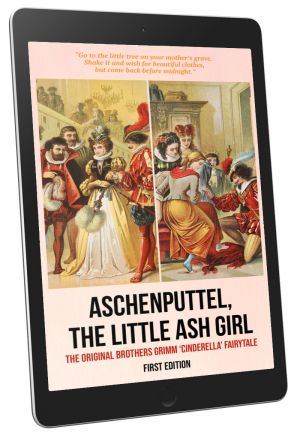 Front Cover - Aschenputtel, the Little Ash Girl (First Edition)