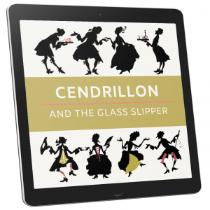 Book Cover - Cendrillon and the Glass Slipper (Illustrated)
