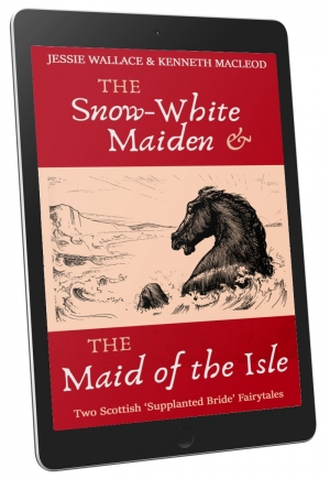 Front Cover - The Snow-White Maiden & The Maid of the Isle