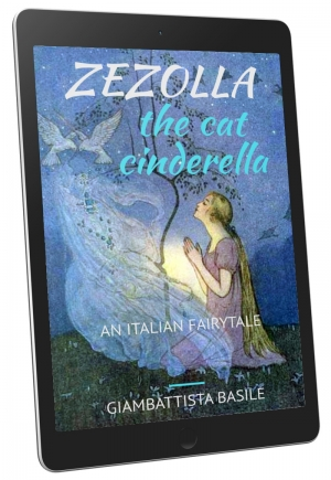 Front Cover - Zezolla, The Cat Cinderella